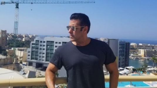 Salman Khan nails a back flip dive into the pool in new video. Woah is all we can say