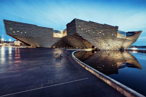 V&A Dundee Museum will open on Saturday 15 September 2018, A game-changer for tourism in Scotland