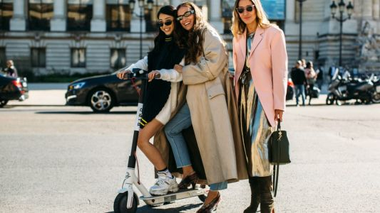Hey, Quick Question: Are Electric Scooters Fashion Now?