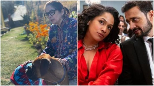 Masaba shares throwback pic of Neena Gupta with their pet Mila. Satyadeep Misra reacts