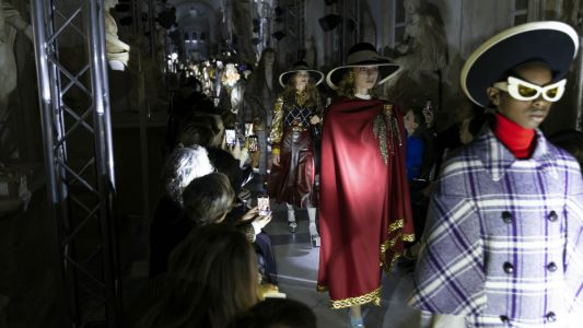 Alessandro Michele Takes the Fight for Reproductive Freedom to Rome for Gucci Resort 2020