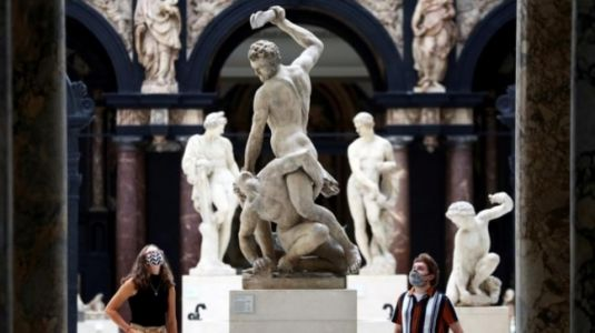 London's Victoria and Albert Museum reopens after being closed for 138 days