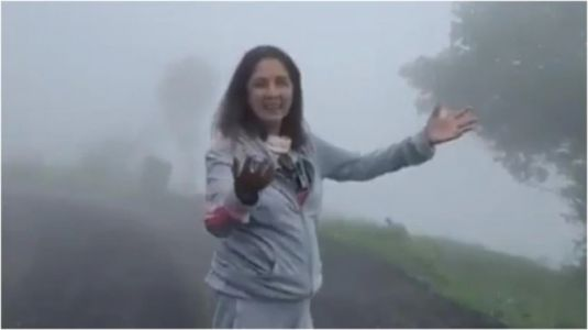 Neena Gupta enjoys morning walk in Uttarakhand in new Instagram post. Watch video