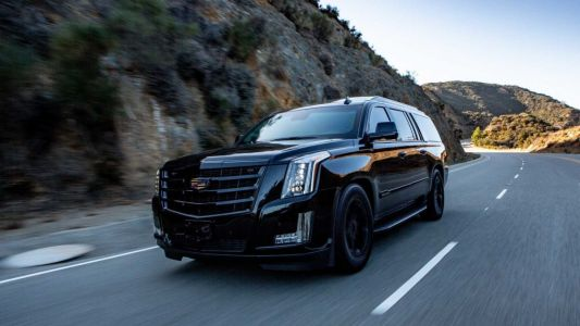 This US$350,000 Cadillac Escalade is an apocalyptic dream