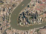 Stunning satellite images reveal some of our planet's largest cities in mesmerising detail