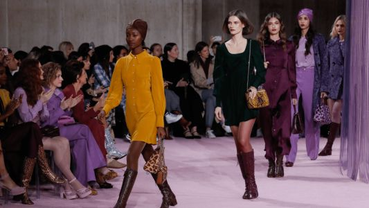Nicola Glass Hits Her Groove and Gets Groovy at Kate Spade New York Fall 2019