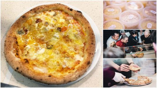 The world's cheesiest pizza is named - and it contains 111 types of different cheese