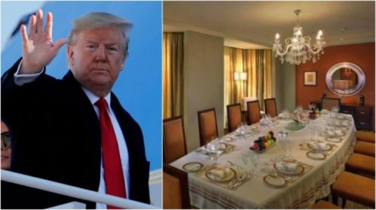 Donald Trump in India: Delhi hotel suite POTUS to be in costs Rs 8 lakh a night
