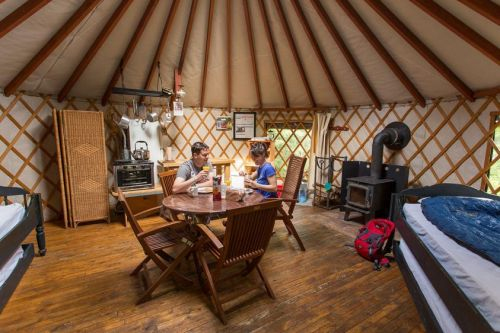 The Coolest Places To Go Glamping In Canada