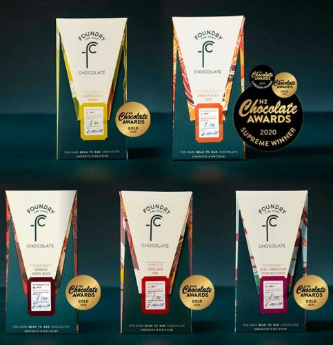 Be in to win one of three gold medal-winning chocolate prize packs from Foundry Chocolate, valued at $62.50 each