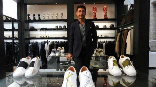 This Syrian refugee has launched a luxury sneaker brand in France