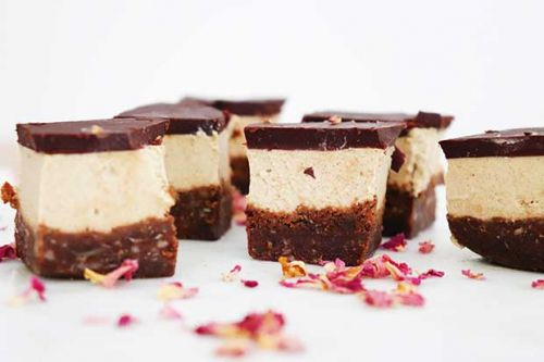 Recipe: Vegan probiotic caramel slice