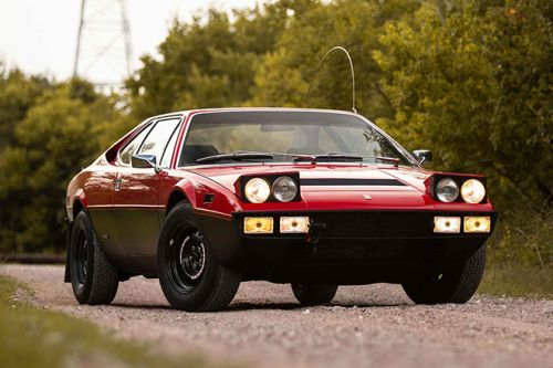 The Refurbished 1975 Ferrari Dino 308 GT4 'Safari' Claims Lot 171 at Sotheby's