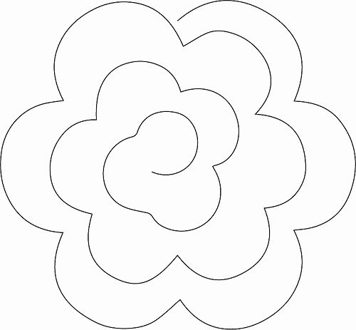 30 Best Of Paper Rose Template Pdf Pictures
