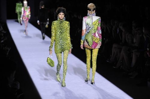 Tom Ford's new collection is tawdry and vulgar and probably what our culture deserves