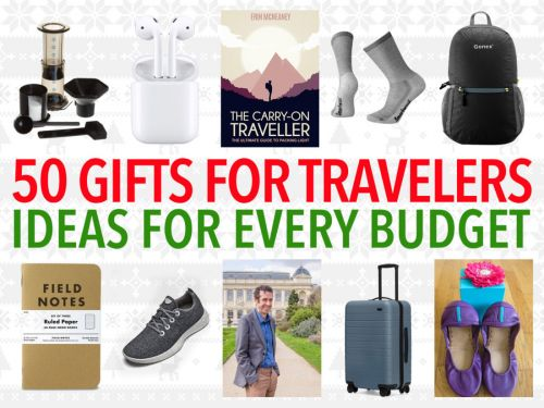 50 Best Gifts for Travelers: Unique Ideas for Every Budget