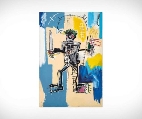 Jean-Michel Basquiat's Warrior: The Western World's Most Value Artwork In Asia