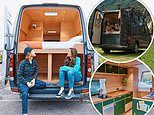 Couple enjoyed working on their £13k van more than their new life on the road
