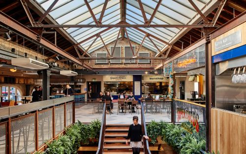 Is the food hall the future of dining out?
