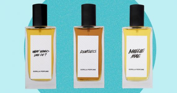 Lush has released a snazzy new perfume range