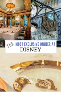 The Most Exclusive Dinner at Disney - 21 Royal