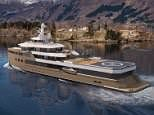 A blade above the rest! Revealing the 252-foot superyacht which comes with TWO helicopters