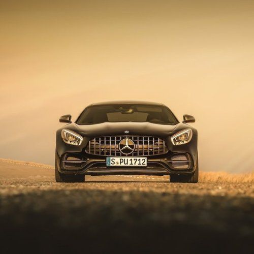 Mercedesbenz: The face of Driving Performance.  Mercedes-AMG GT