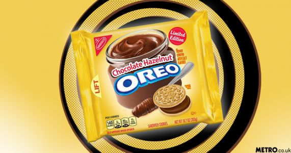 Nutella flavoured Oreos are perfect for dunking into hot chocolate this winter