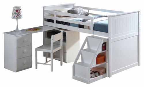 20 Best Of Low Loft Bed with Desk Images