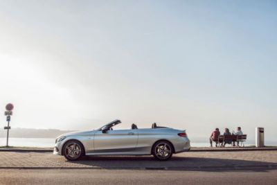 Mercedesbenz: Just put the top down and enjoy the