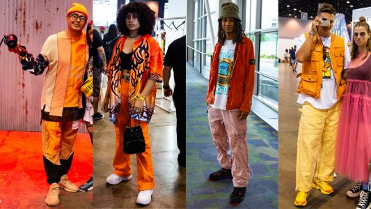 Orange Was the Standout Color Choice at ComplexCon in Chicago
