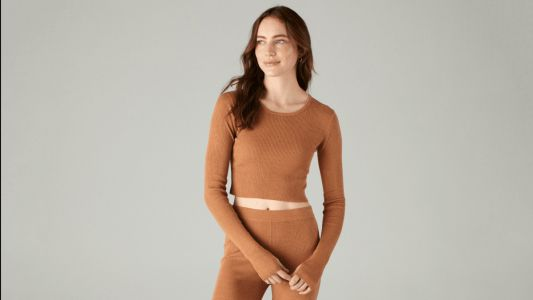 Dara Can't Wait to Wear This Soft and Airy Cashmere Set All Spring Long