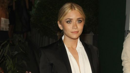 Great Outfits in Fashion History: Ashley Olsen in a Francisco Costa for Calvin Klein Tuxedo
