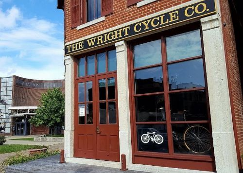 Where Ideas Took Flight - the Wright Cycle Shop in Dayton Ohio