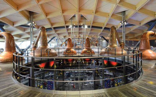 Inside Macallan's new, one-of-a-kind, £140 million subterranean distillery