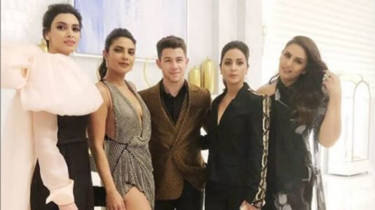 Priyanka Chopra, Nick Jonas, Huma Qureshi, Hina Khan and Diana Penty party all night at Cannes 2019