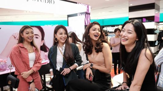 Video: Givenchy's Le Rose Perfecto colour lip balm launch in Sephora KLCC