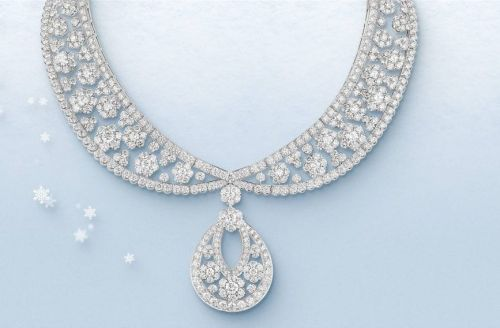 The Van Cleef & Arpels Snowflake Collection is a true diamond winter's dream