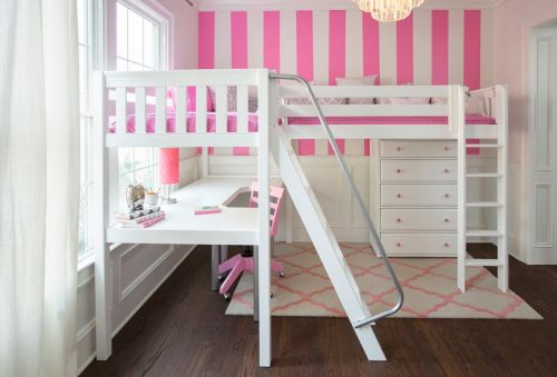 30 Best Of White Loft Beds with Desk Underneath Pictures