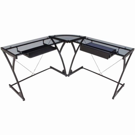 29 Best Of Glass Corner Computer Desk Pics