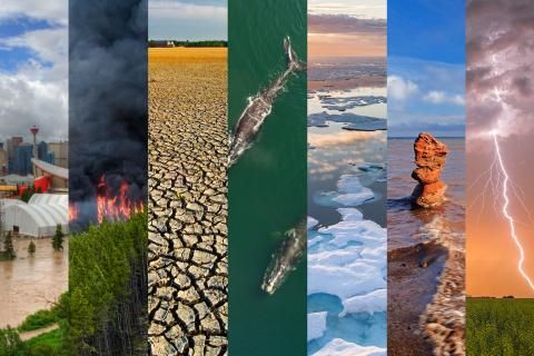 Photos: How climate change is transforming Canada