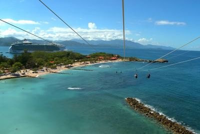 Video: Would You Ride the World's Longest Overwater Zip Line?