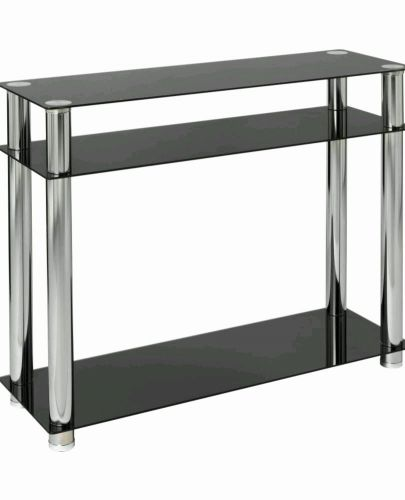 49 Awesome Black Modern Console Table Pictures