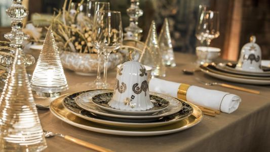 Decorate your Christmas table with Vista Alegre