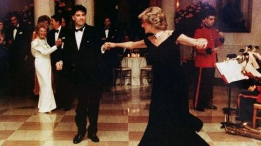 Princess Diana wore her favourite gown the Travolta dress eight times in public