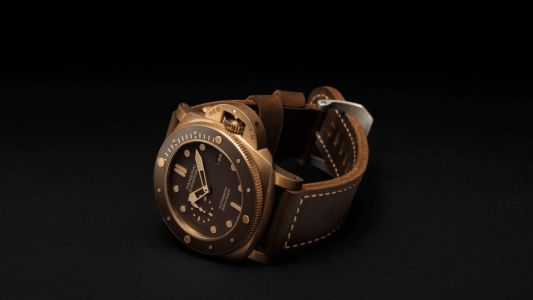 Dive deeper with the original Panerai Submersible Bronzo