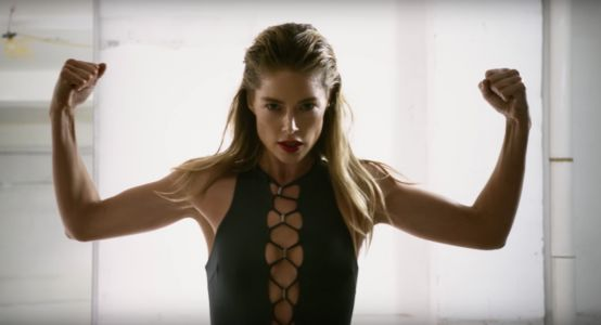 Doutzen Kroes Does a Little Cardio On Day 9 of 'Love' Advent