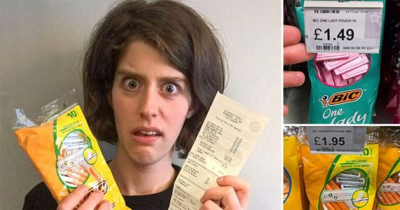 Edinburgh student tackles the sexism of a woman's razor costing more than a man's