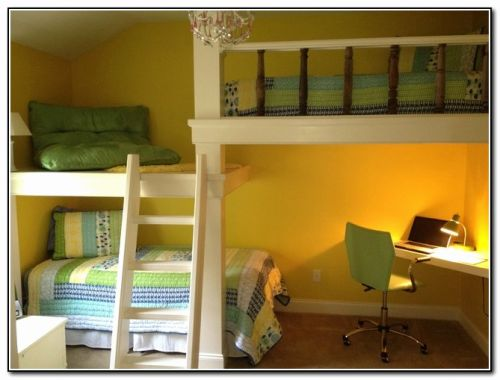29 Elegant Kids Bunk Beds with Desk Graphics