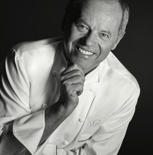 Celebrity chef Wolfgang Puck opens his first Hong Kong restaurant at the airport